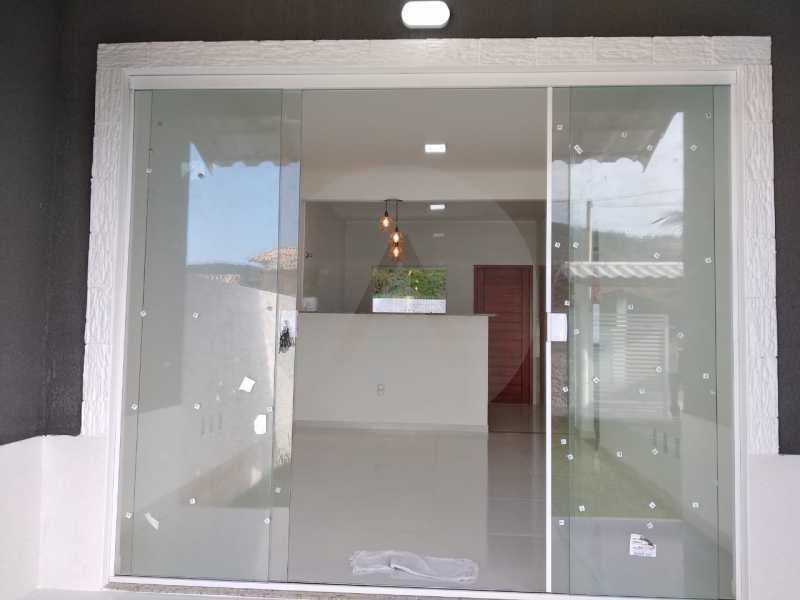 Casa Condomínio  - Imobiliária Agatê Imóveis vende Casa em Condomínio de 61 m² Várzea das Moças - Niterói. - HTCN20047 - 7