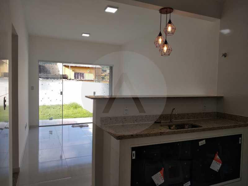 Casa Condomínio  - Imobiliária Agatê Imóveis vende Casa em Condomínio de 61 m² Várzea das Moças - Niterói. - HTCN20047 - 10