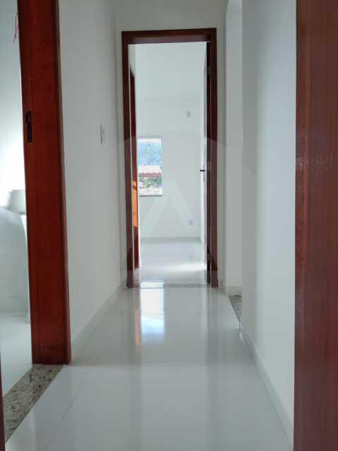 Casa Condomínio  - Imobiliária Agatê Imóveis vende Casa em Condomínio de 61 m² Várzea das Moças - Niterói. - HTCN20047 - 12