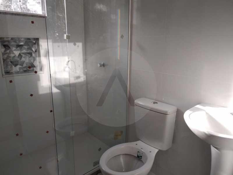 Casa Condomínio  - Imobiliária Agatê Imóveis vende Casa em Condomínio de 61 m² Várzea das Moças - Niterói. - HTCN20047 - 18
