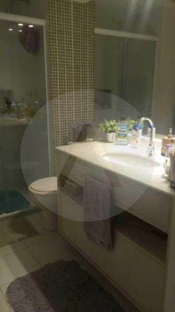 13 Apto Padrão Itacoatiara - Imobiliária Agatê Imóveis vende Apartamento Padrão de 90m² Itacoatiara - Niterói por R 700 mil reais. - HTAP30041 - 14
