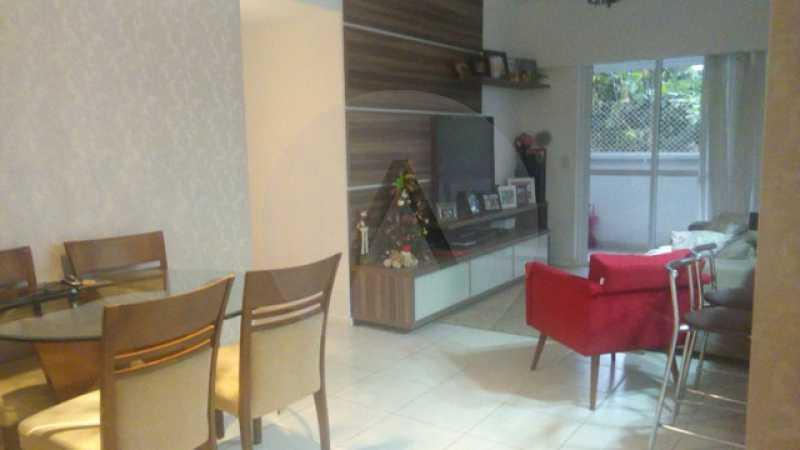 2 Apto Padrão Itacoatiara - Imobiliária Agatê Imóveis vende Apartamento Padrão de 90m² Itacoatiara - Niterói por R 700 mil reais. - HTAP30041 - 3