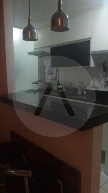 10 Apto Padrão Itacoatiara - Imobiliária Agatê Imóveis vende Apartamento Padrão de 90m² Itacoatiara - Niterói por R 700 mil reais. - HTAP30041 - 11