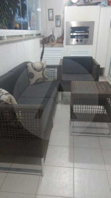 7 Apto Padrão Itacoatiara - Imobiliária Agatê Imóveis vende Apartamento Padrão de 90m² Itacoatiara - Niterói por R 700 mil reais. - HTAP30041 - 8