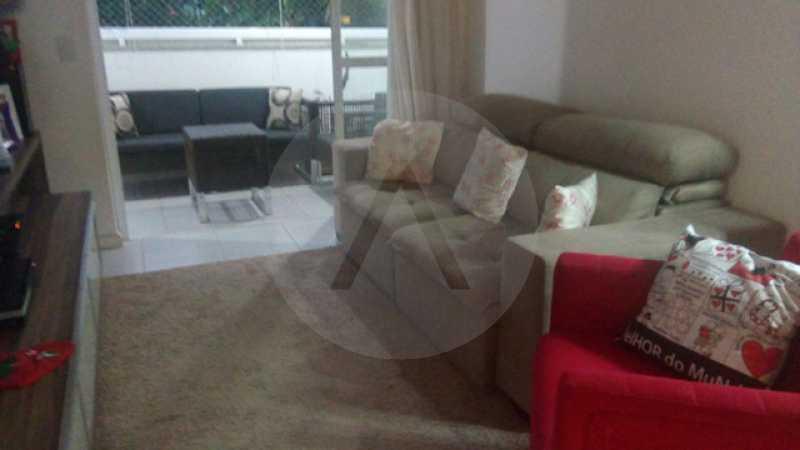 5 Apto Padrão Itacoatiara - Imobiliária Agatê Imóveis vende Apartamento Padrão de 90m² Itacoatiara - Niterói por R 700 mil reais. - HTAP30041 - 6