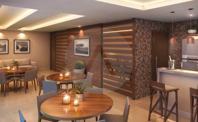 23 Apto Duplex Piratininga - Imobiliária Agatê Imóveis vende Apartamento Duplex de 111m² Piratininga - Niterói por R 920 mil reais. - HTAP30042 - 24