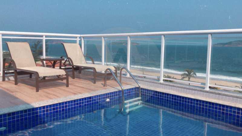2 Apto Duplex Piratininga - Imobiliária Agatê Imóveis vende Apartamento Duplex de 111m² Piratininga - Niterói por R 920 mil reais. - HTAP30042 - 3