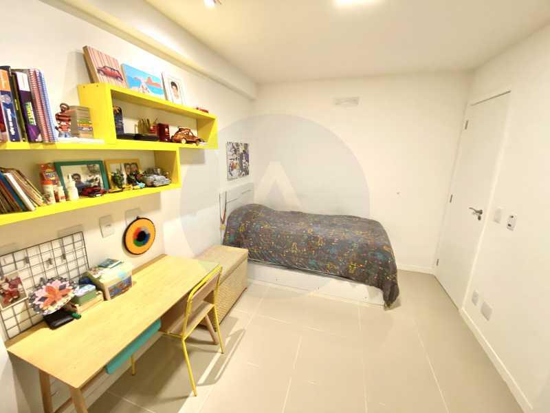 13 Apto Duplex Piratininga - Imobiliária Agatê Imóveis vende Apartamento Duplex de 111m² Piratininga - Niterói por R 920 mil reais. - HTAP30042 - 14