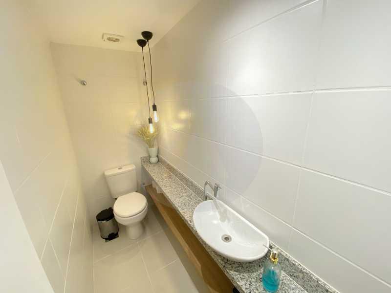 7 Apto Duplex Piratininga - Imobiliária Agatê Imóveis vende Apartamento Duplex de 111m² Piratininga - Niterói por R 920 mil reais. - HTAP30042 - 8