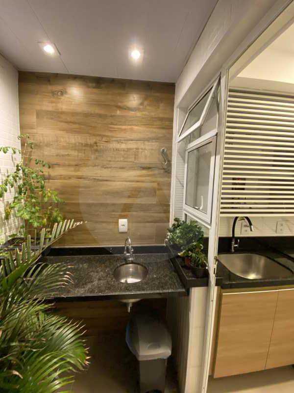 20 Apto Duplex Piratininga - Imobiliária Agatê Imóveis vende Apartamento Duplex de 111m² Piratininga - Niterói por R 920 mil reais. - HTAP30042 - 21