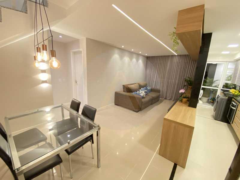 3 Apto Duplex Piratininga - Imobiliária Agatê Imóveis vende Apartamento Duplex de 111m² Piratininga - Niterói por R 920 mil reais. - HTAP30042 - 4