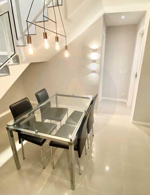 6 Apto Duplex Piratininga - Imobiliária Agatê Imóveis vende Apartamento Duplex de 111m² Piratininga - Niterói por R 920 mil reais. - HTAP30042 - 7