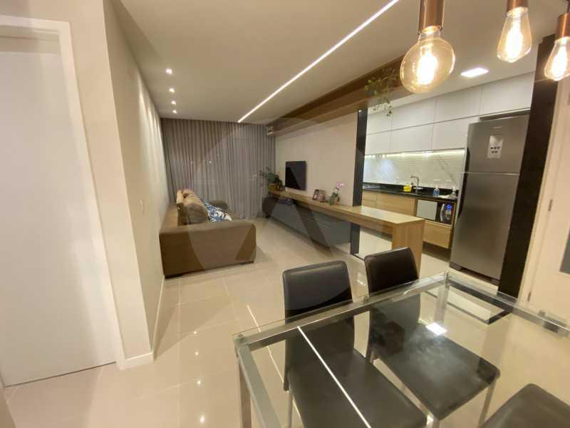 1 Apto Duplex Piratininga - Imobiliária Agatê Imóveis vende Apartamento Duplex de 111m² Piratininga - Niterói por R 920 mil reais. - HTAP30042 - 1