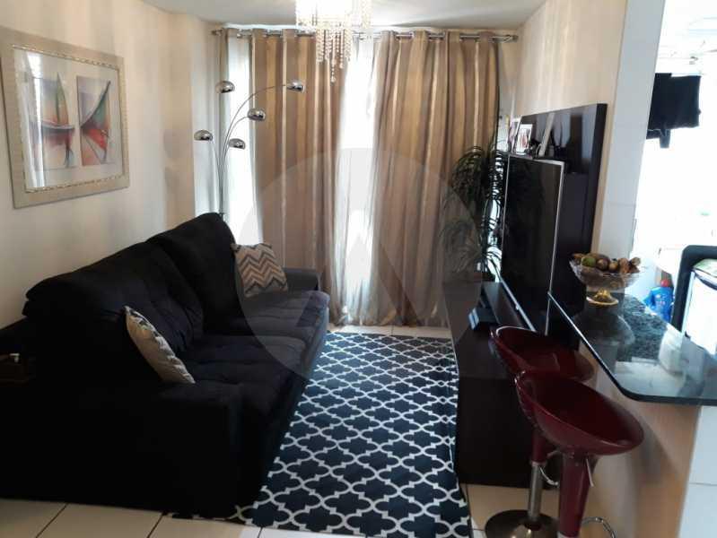 2 Apto Pendotiba. - Agatê Imóveis vende Apartamento Padrão com 3 dormitórios, 70m² Pendotiba - Niterói. - HTAP30043 - 3