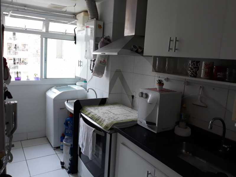 7 Apto Pendotiba. - Agatê Imóveis vende Apartamento Padrão com 3 dormitórios, 70m² Pendotiba - Niterói por 475 mil reais. - HTAP30043 - 8