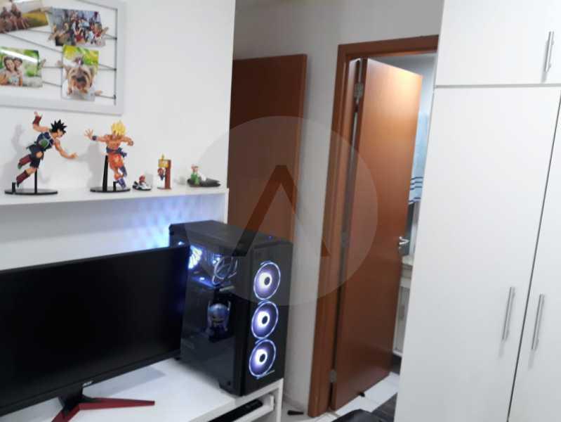 14 Apto Pendotiba. - Agatê Imóveis vende Apartamento Padrão com 3 dormitórios, 70m² Pendotiba - Niterói por 475 mil reais. - HTAP30043 - 15