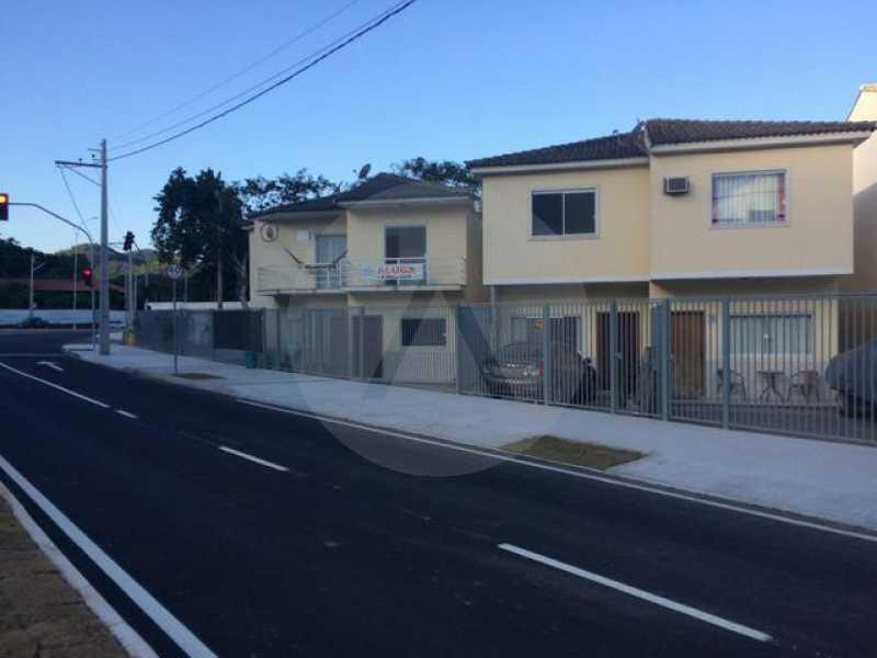 1 Casa Duplex Piratininga - Imobiliária Agatê Imóveis vende Condomínio com 4 casas Duplex, Piratininga - Niterói. - HTCA20041 - 1