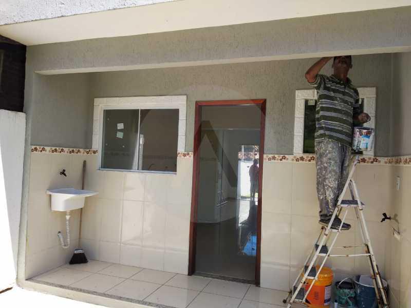 12 Casa Condomínio Itaipu - Imobiliária Agatê Imóveis vende Casa em Condomínio de 74m² Várzea das Moças - Niterói por 260 mil reais. - HTCN30103 - 13