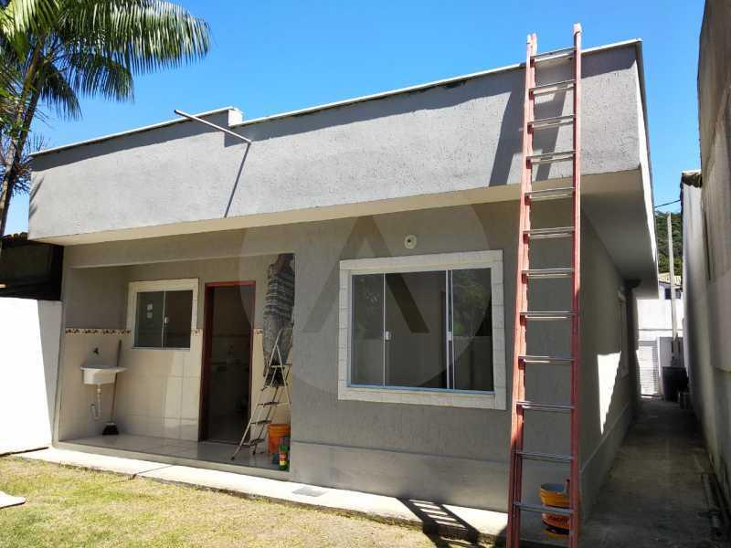2 Casa Condomínio Itaipu - Imobiliária Agatê Imóveis vende Casa em Condomínio de 74m² Várzea das Moças - Niterói por 260 mil reais. - HTCN30103 - 3