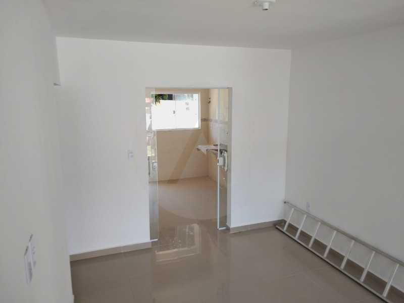 4 Casa Condomínio Itaipu - Imobiliária Agatê Imóveis vende Casa em Condomínio de 74m² Várzea das Moças - Niterói por 260 mil reais. - HTCN30103 - 5