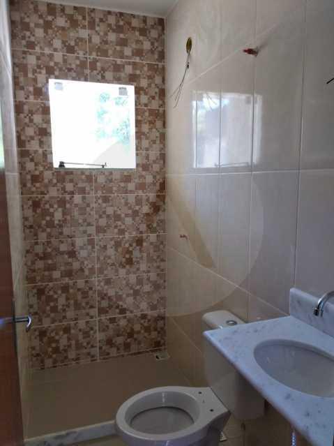 8 Casa Condomínio Itaipu - Imobiliária Agatê Imóveis vende Casa em Condomínio de 74m² Várzea das Moças - Niterói por 260 mil reais. - HTCN30103 - 9