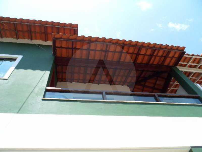 15 - Imobiliária Agatê Imóveis vende Casa de 138 m² Itaipu - Niterói por 330 mil reais. - HTCA20006 - 16