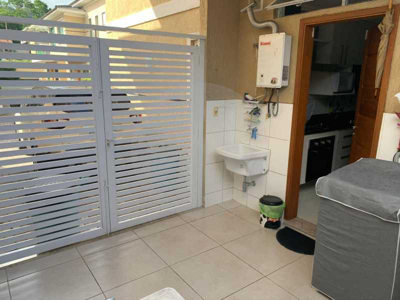 20 Casa Condomínio Itaipu. - Imobiliária Agatê Imóveis vende Casa em Condomínio - Itaipu - Niterói. - HTCN30104 - 21