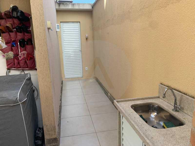 21 Casa Condomínio Itaipu. - Imobiliária Agatê Imóveis vende Casa em Condomínio - Itaipu - Niterói. - HTCN30104 - 22