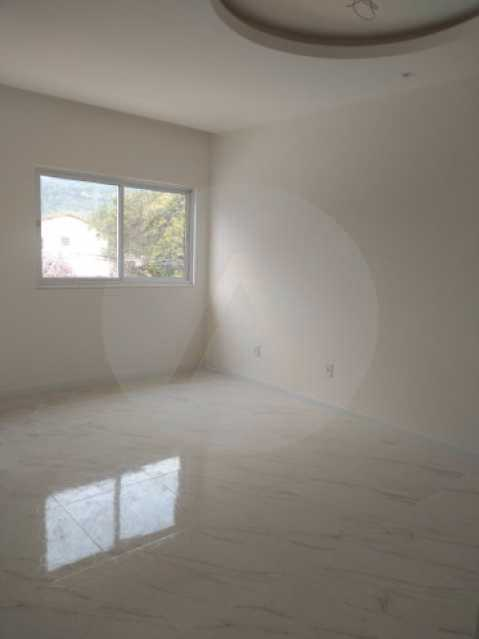 10 Casa Duplex Itaipu - Imobiliária Agatê Imóveis vende Casa Duplex de 168m² Itaipu - Niterói por 800 mil reais. Linda - HTCA30246 - 11