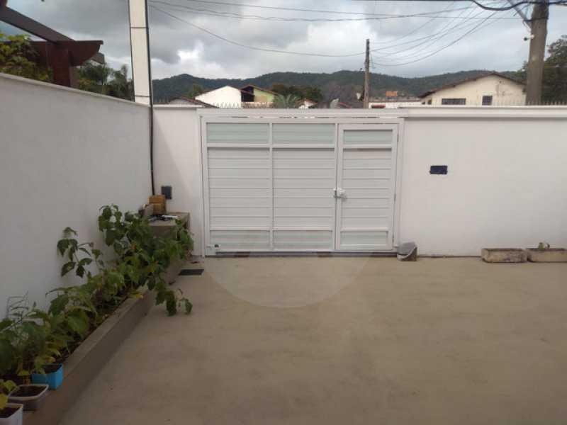 19 Casa Duplex Itaipu - Imobiliária Agatê Imóveis vende Casa Duplex de 168m² Itaipu - Niterói por 800 mil reais. Linda - HTCA30246 - 20