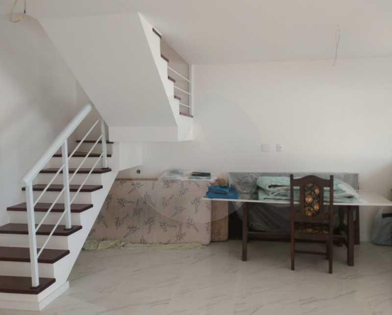 8 Casa Duplex Itaipu - Imobiliária Agatê Imóveis vende Casa Duplex de 168m² Itaipu - Niterói por 800 mil reais. Linda - HTCA30246 - 9