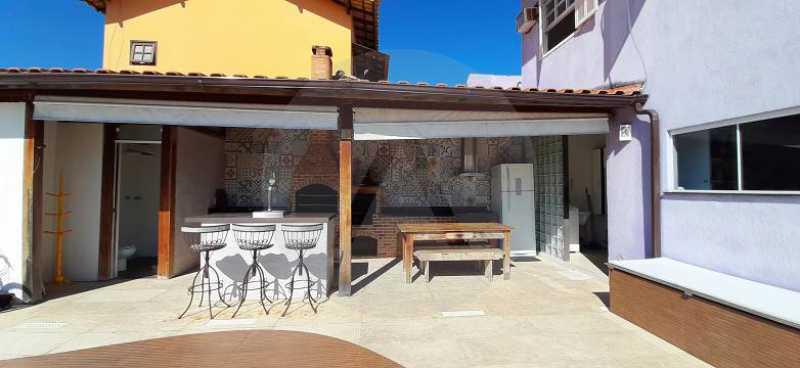4 Casa Duplex Piratininga - Imobiliária Agatê Imóveis vende Casa Duplex de 170m² Piratininga - Niterói por R 1.190 mil reais. - HTCA40118 - 5