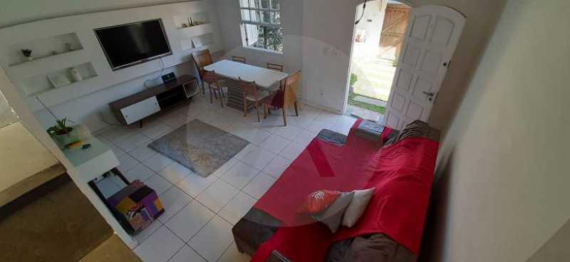 10 Casa Duplex Piratininga - Imobiliária Agatê Imóveis vende Casa Duplex de 170m² Piratininga - Niterói por R 1.190 mil reais. - HTCA40118 - 14
