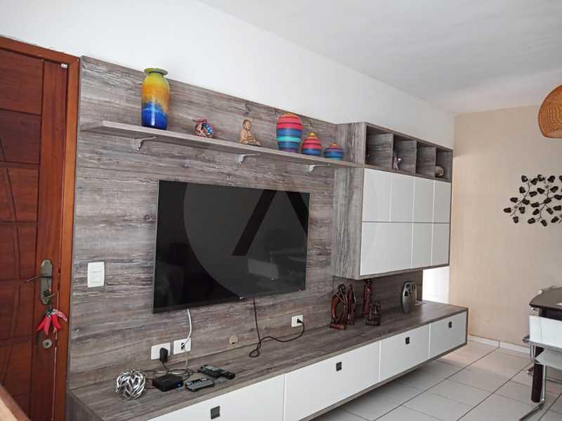 3 Casa Padrão Itaipu. - Imobiliária Agatê Imóveis vende Casa Linear de 120m² Itaipu - Niterói por R 480 mil reais. - HTCA30249 - 4