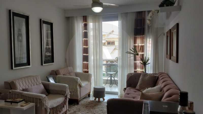 2 Apartamento Garden Piratinin - Imobiliária Agatê Imóveis vende Apartamento Garden com 120m² - Trevo de Piratininga - Niterói. - HTAP30046 - 3