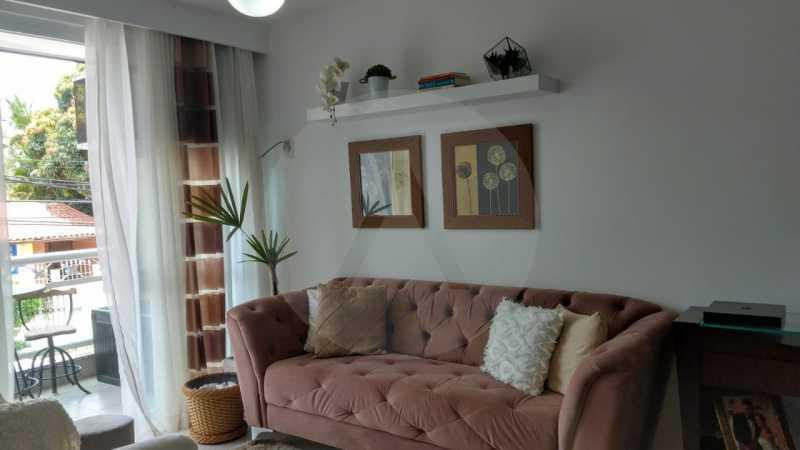 5 Apartamento Garden Piratinin - Imobiliária Agatê Imóveis vende Apartamento Garden com 120m² - Trevo de Piratininga - Niterói. - HTAP30046 - 6
