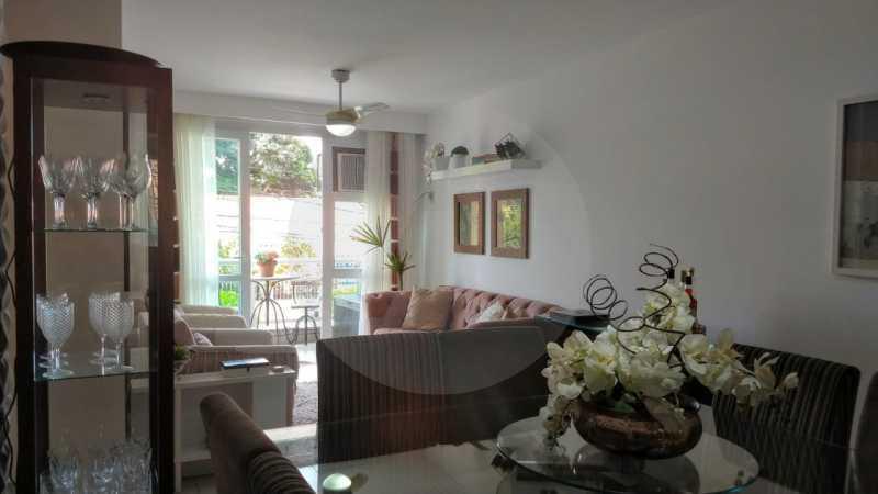 6 Apartamento Garden Piratinin - Imobiliária Agatê Imóveis vende Apartamento Garden com 120m² - Trevo de Piratininga - Niterói. - HTAP30046 - 7
