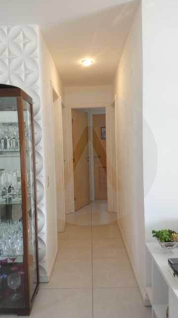 7 Apartamento Garden Piratinin - Imobiliária Agatê Imóveis vende Apartamento Garden com 120m² - Trevo de Piratininga - Niterói. - HTAP30046 - 8