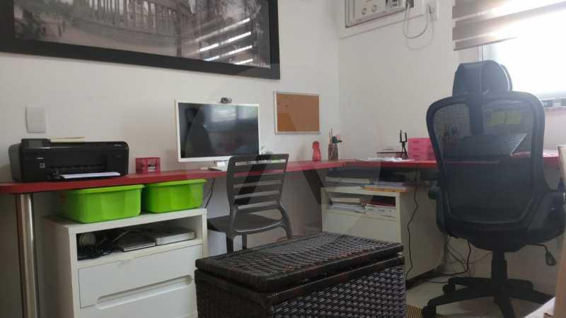 10 Apartamento Garden Piratini - Imobiliária Agatê Imóveis vende Apartamento Garden com 120m² - Trevo de Piratininga - Niterói. - HTAP30046 - 11