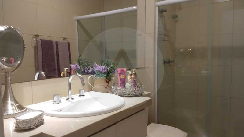 12 Apartamento Garden Piratini - Imobiliária Agatê Imóveis vende Apartamento Garden com 120m² - Trevo de Piratininga - Niterói. - HTAP30046 - 13