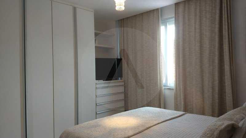 14 Apartamento Garden Piratini - Imobiliária Agatê Imóveis vende Apartamento Garden com 120m² - Trevo de Piratininga - Niterói. - HTAP30046 - 15