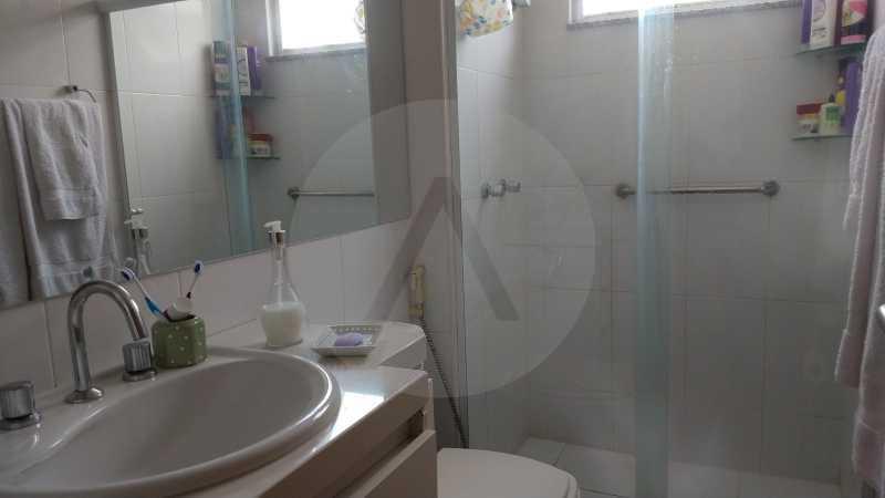 16 Apartamento Garden Piratini - Imobiliária Agatê Imóveis vende Apartamento Garden com 120m² - Trevo de Piratininga - Niterói. - HTAP30046 - 17