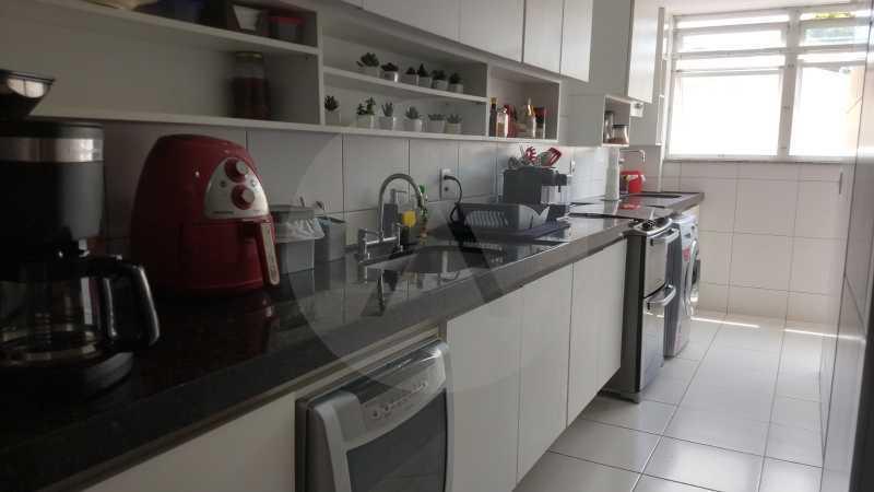 17 Apartamento Garden Piratini - Imobiliária Agatê Imóveis vende Apartamento Garden com 120m² - Trevo de Piratininga - Niterói. - HTAP30046 - 18