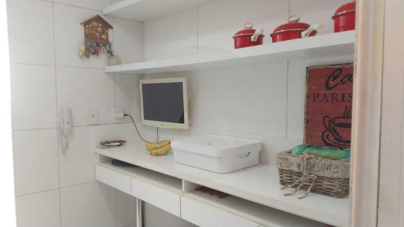 20 Apartamento Garden Piratini - Imobiliária Agatê Imóveis vende Apartamento Garden com 120m² - Trevo de Piratininga - Niterói. - HTAP30046 - 21