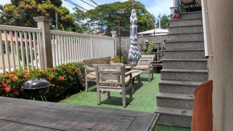 23 Apartamento Garden Piratini - Imobiliária Agatê Imóveis vende Apartamento Garden com 120m² - Trevo de Piratininga - Niterói. - HTAP30046 - 24