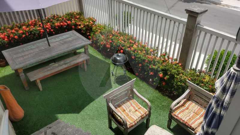 24 Apartamento Garden Piratini - Imobiliária Agatê Imóveis vende Apartamento Garden com 120m² - Trevo de Piratininga - Niterói. - HTAP30046 - 25