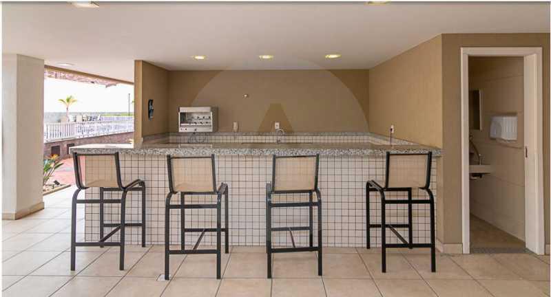 29 Apartamento Garden Piratini - Imobiliária Agatê Imóveis vende Apartamento Garden com 120m² - Trevo de Piratininga - Niterói. - HTAP30046 - 30