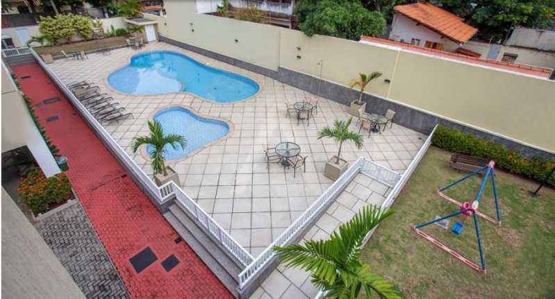 30 Apartamento Garden Piratini - Imobiliária Agatê Imóveis vende Apartamento Garden com 120m² - Trevo de Piratininga - Niterói. - HTAP30046 - 31