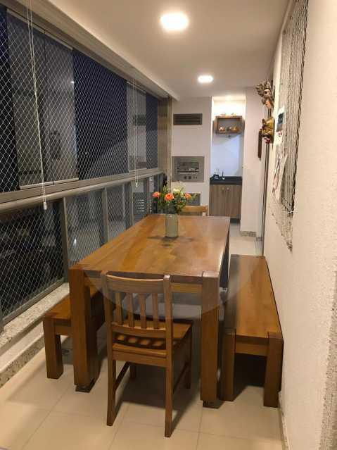 2 Apartamento Padrão Piratini - Imobiliária Agatê Imóveis vende Apartamento de 90 m² Piratininga - Niterói por 750 mil reais. - HTAP20037 - 3