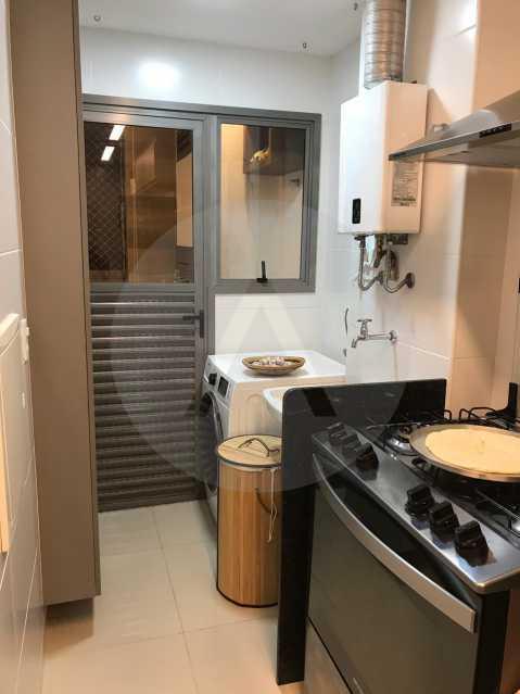 8 Apartamento Padrão Piratini - Imobiliária Agatê Imóveis vende Apartamento de 90 m² Piratininga - Niterói por 750 mil reais. - HTAP20037 - 9